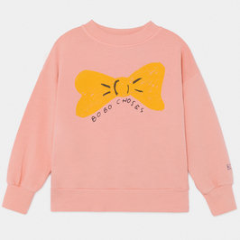 Girl Bow Sweatshirt