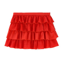 Broderie Anglaise Ruffle Skirt