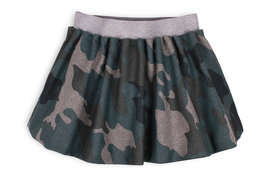 Camouflage Knee Length Skirt