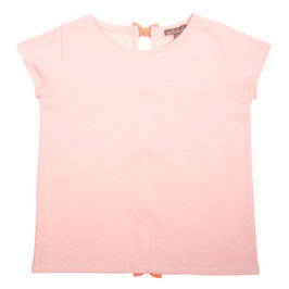 Pink T-shirt with Bows on Back