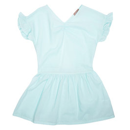Open Back Dress Mint Dress
