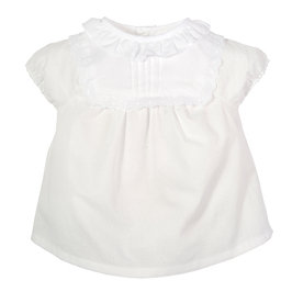 Baby Girls Ivory Blouse