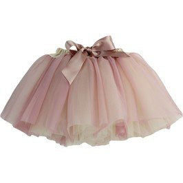 Dolly Cream / Dusty Pink Fairy Tutu Skirt