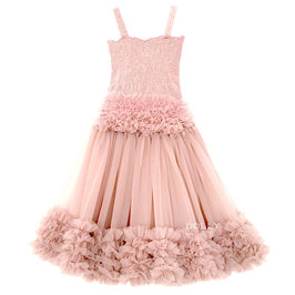 Ballet Pink Frilly Top and Tutu Skirt Set