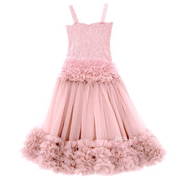 Rose Pink Frilly Top and Tutu Skirt Set