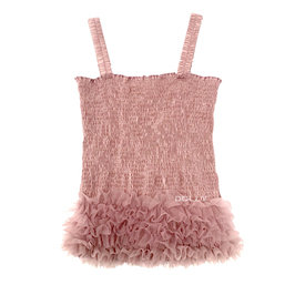 Mauve Frilly Top