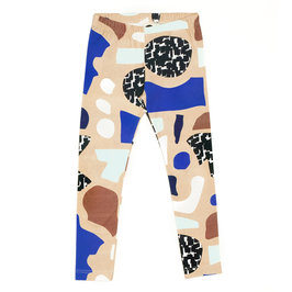 """Aho"" Printed Organic Leggings"