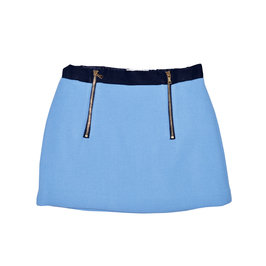 Girls Slim A-Line Mini Skirt