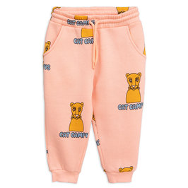Pink Cat Campus Sweatpants