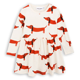 Dog Long Sleeves Dress