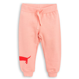 Dog Printed Pink Sweatpants