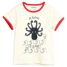Red Octopus SS Tee