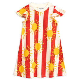 New Season: Sun Stripe AOP Wing Dress