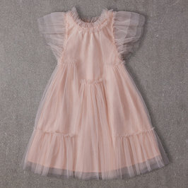 Antoinette Dress in Pink Lemonade