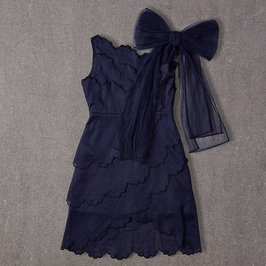 Giselle Dress in Navy