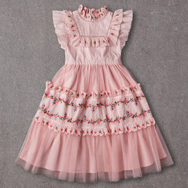 Julianna Dress in Peaches