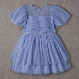 Peyton Dress in Dusty Periwinkle
