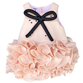 Mademoiselle Dress in Baby Pink
