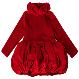 "PRE-ORDER: Red Velvet ""Flame"" Dress"