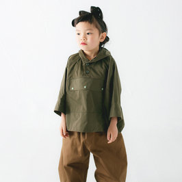 New Season: Khaki Anorak Top