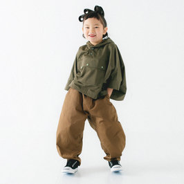 Cotton Brown Harem Pants