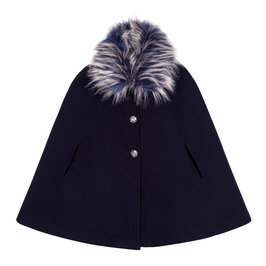 Faux Fur Naroa Cape