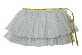 Powder Blue Glinda Mini Wrap Skirt
