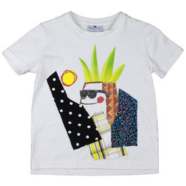 Xander T-shirt in Off-white