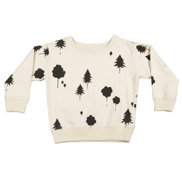 Sweatshirt with Forest AOP
