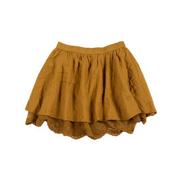 Ginger Lace Mini Skirt