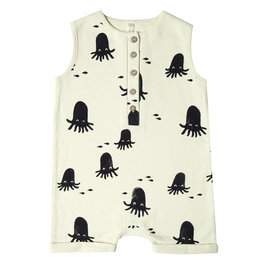 New Season: Davis Romper Octopus