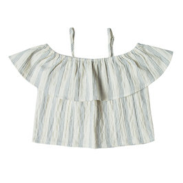 Off Shoulder Top Stripe