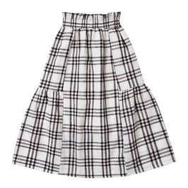 Check Janise Long Skirt