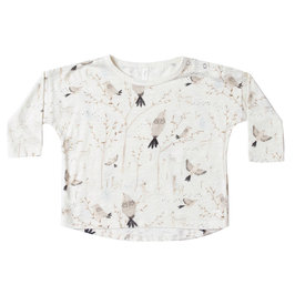 Baby Winter Birds LS Tee