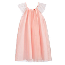 Tulle Dress with Rhinestones