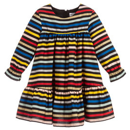 Girls Striped Dipa Dress