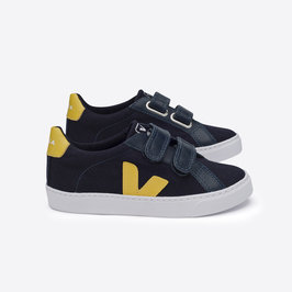 Esplar Canvas Nautico Gold Shoes