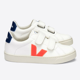Velcro White Orange Fluo Cobalt