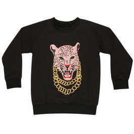 """Wauw Kid"" Black Sweatshirt"