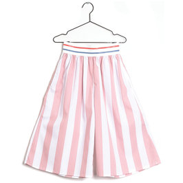 "New Season: Pink Stripe ""Elsa"" Culottes"