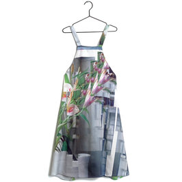 "Girl Stillness Print ""Mafalda"" Dress"