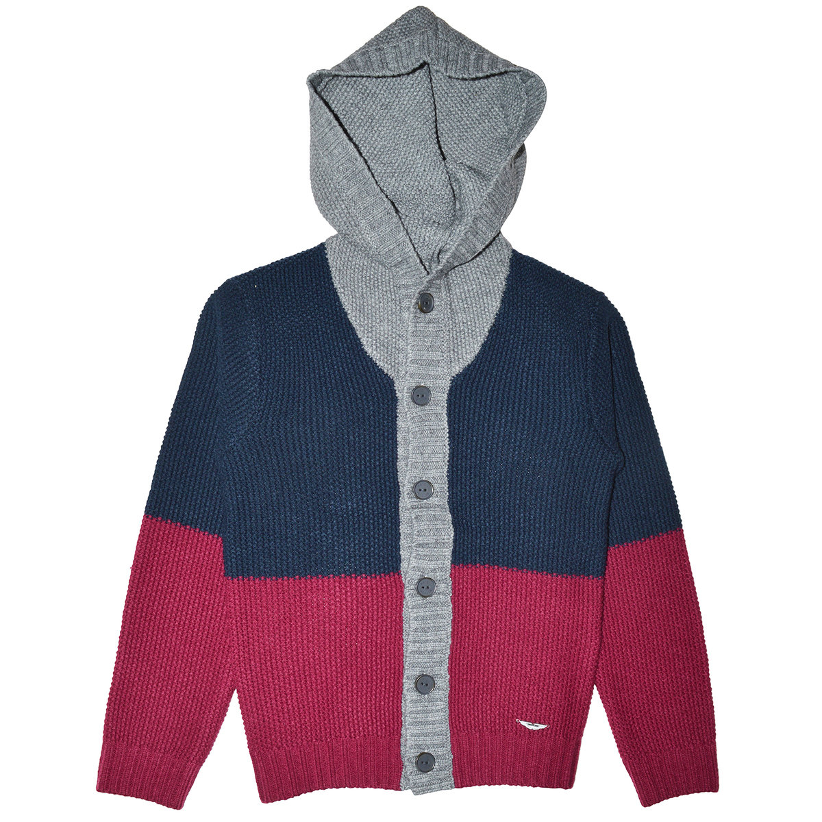 Boys Hooded Cardigan | Aston Martin Cardigans & Sweaters | Angelibebe