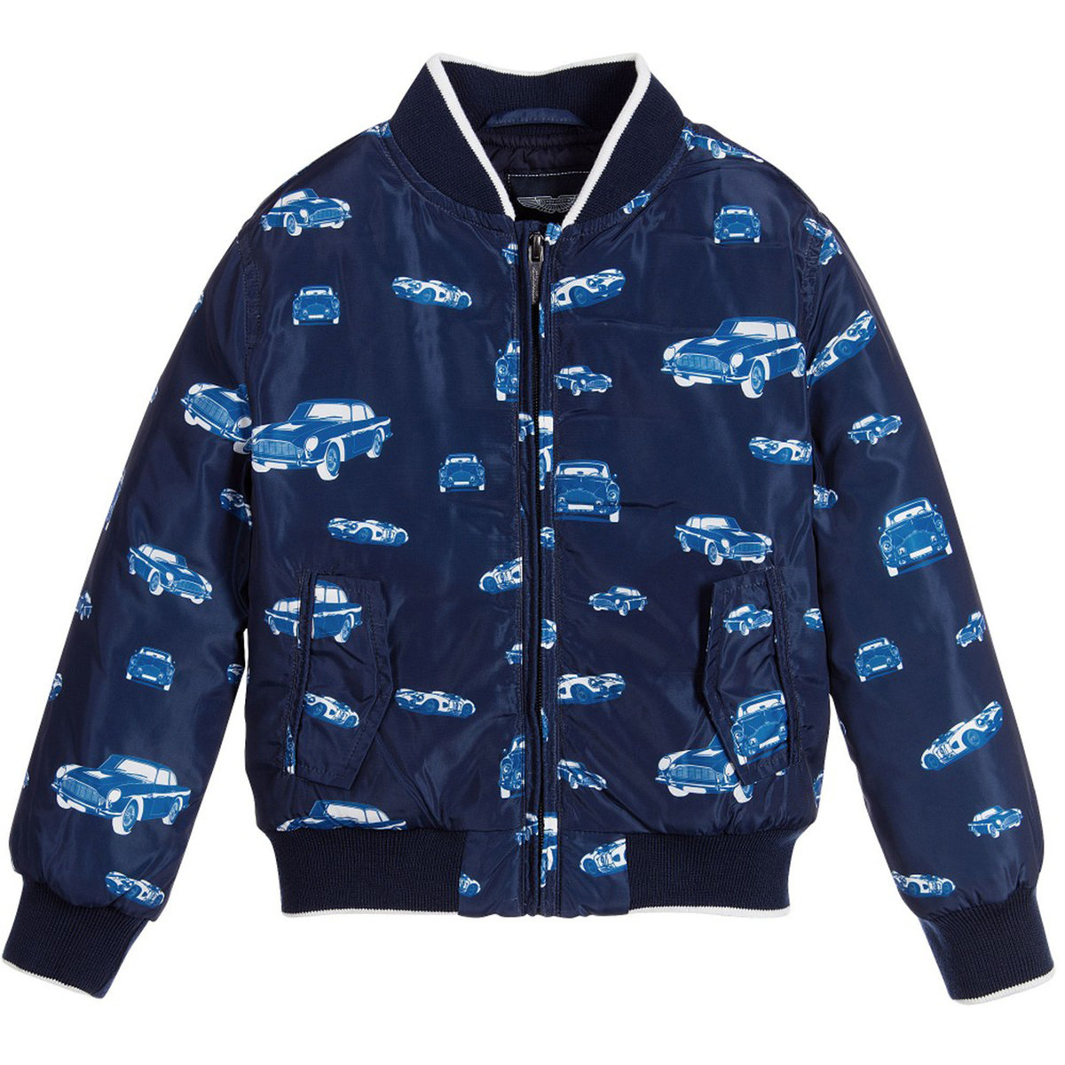 Toddler Boy Down Printed Jacket Aston Martin Jackets Coats