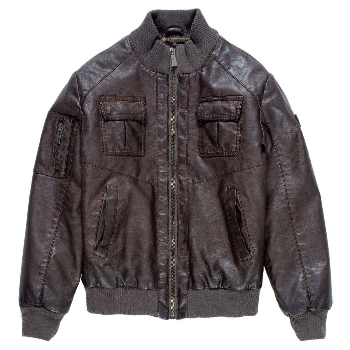 Boys Leather Bomber Jacket Aston Martin Jackets Coats