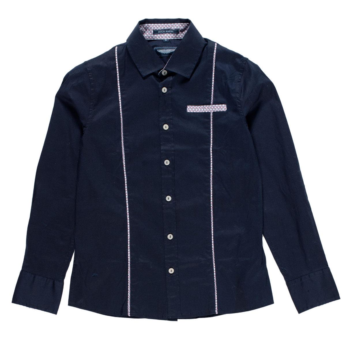 Boys Dark Blue Shirt Aston Martin TShirts Shirts Polos - Aston martin shirt