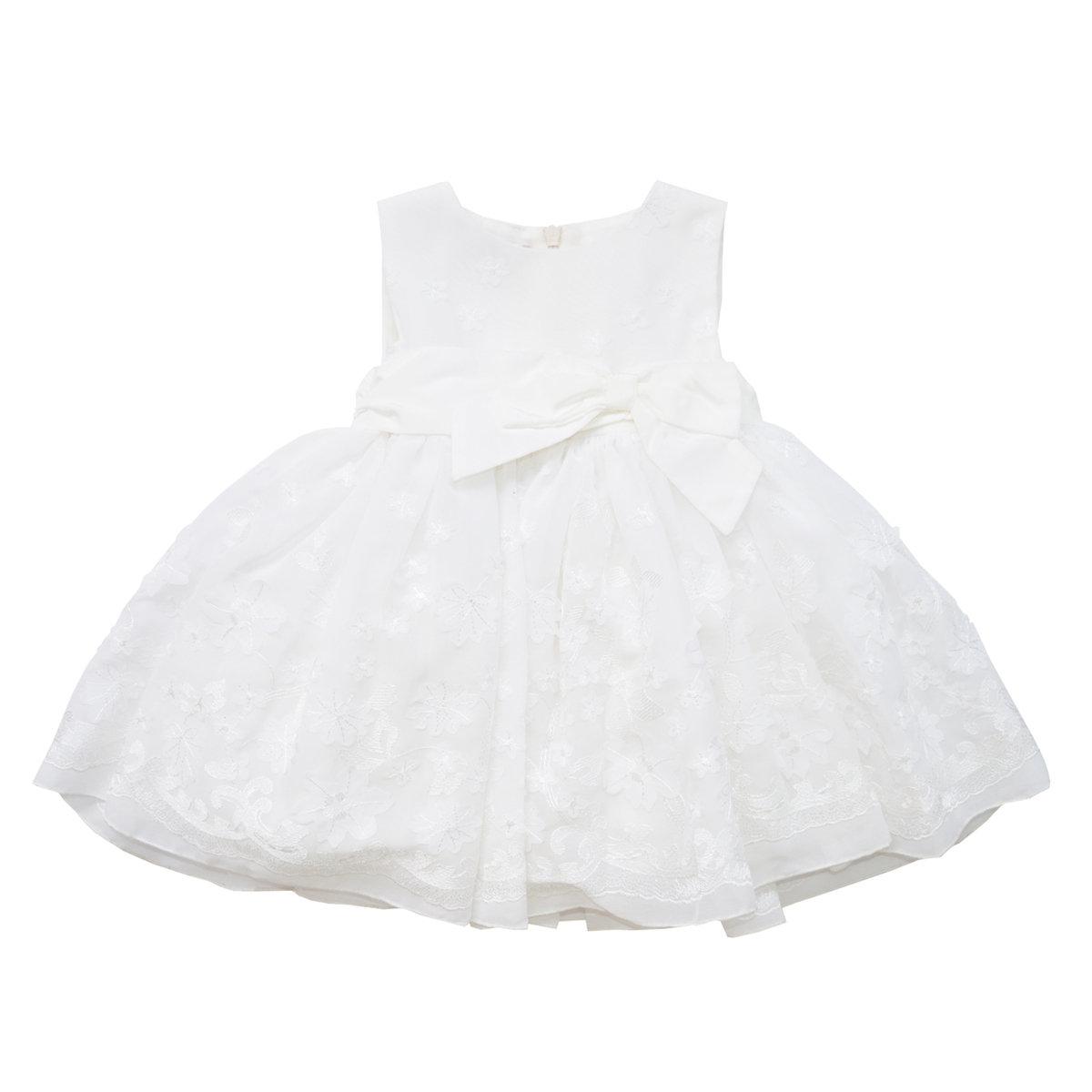 Baby Girl Off White Flower Dress Baby Graziella Sale Angelibebe