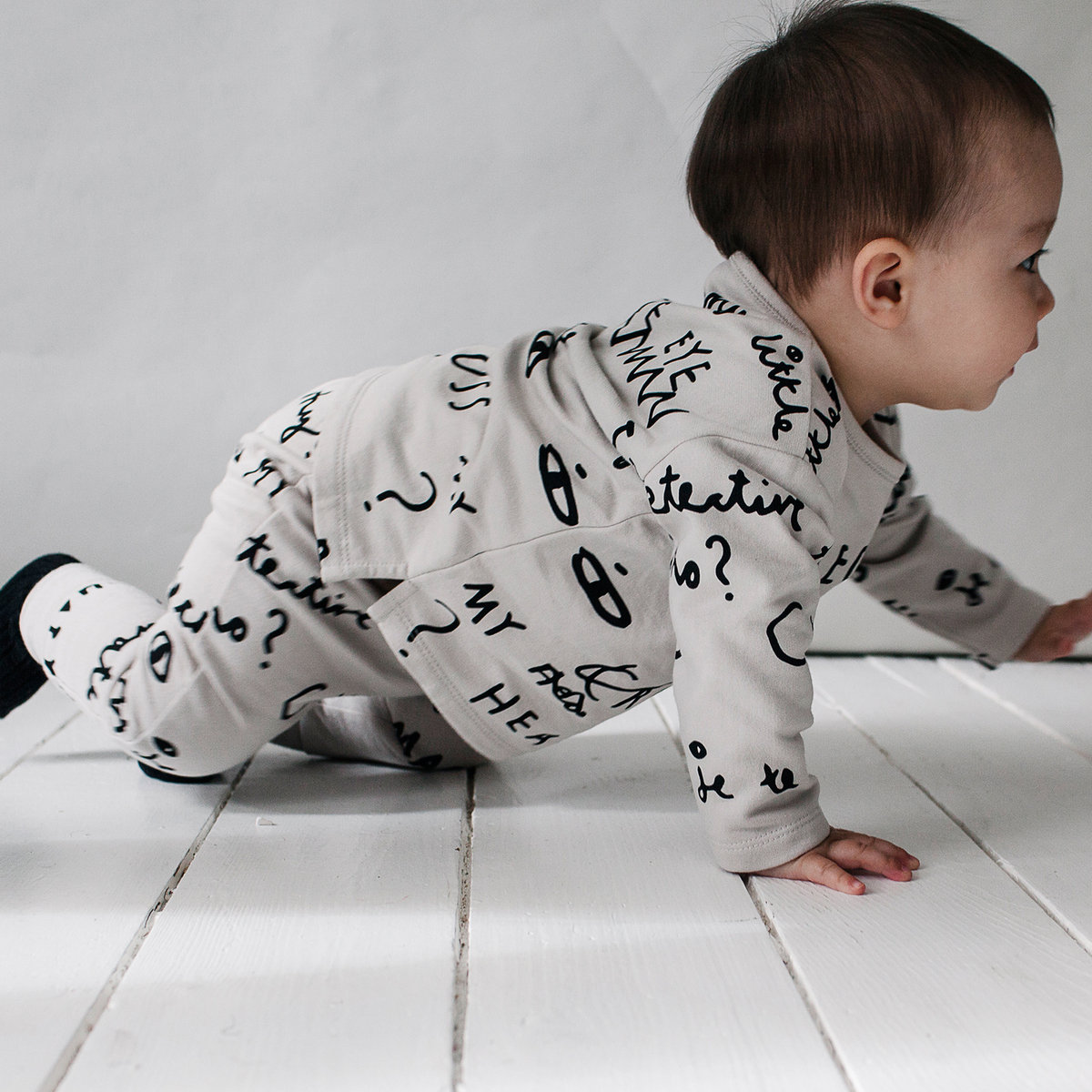 Baby Sweater With Notebook Aop Beau Loves Cardigans And