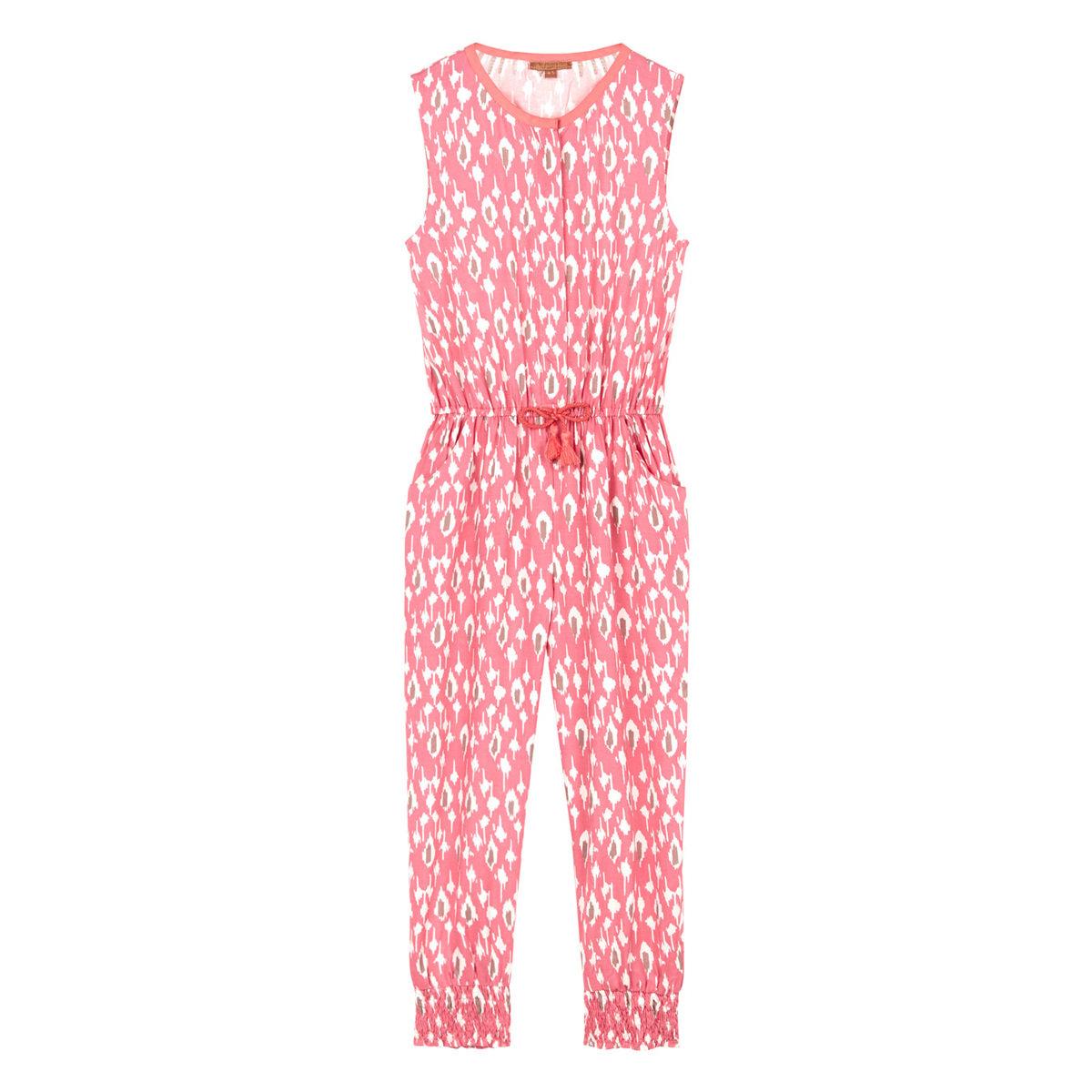 5450db624e1b Pink Ikat Print Jumpsuit Thumbnail