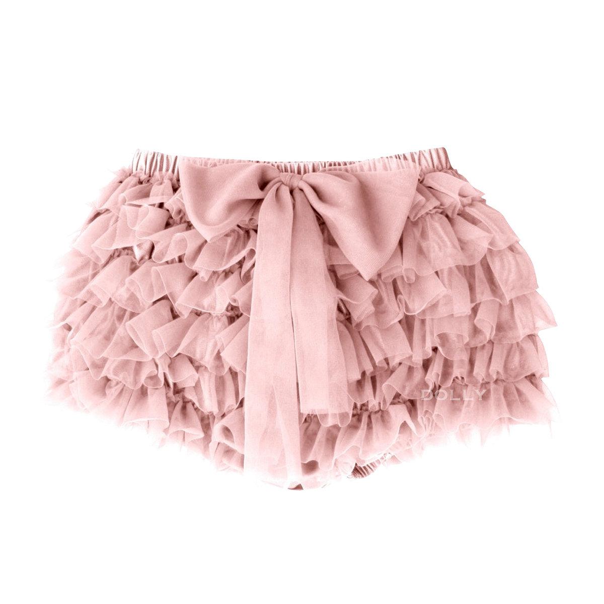 ebc196be3799 Ballet Pink Frilly Tutu Bloomer | Le Petit Tom Sale | Angelibebe ...