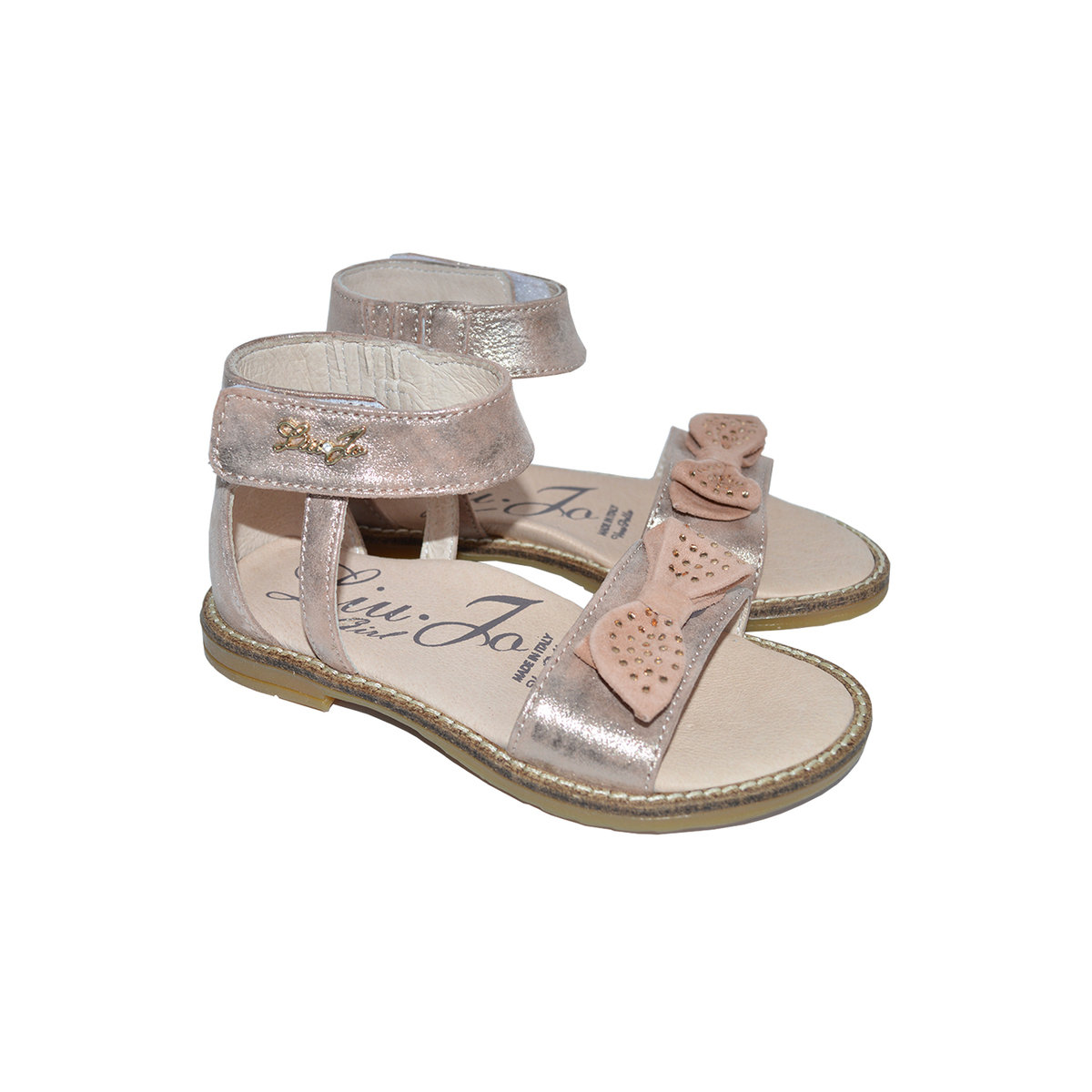 Baby Girls   Toddlers Sandals with Crystal Embellished Bow Thumbnail ebd5cb0435f